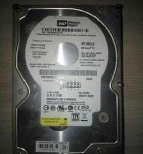 Жесткий диск WD 160 Gb