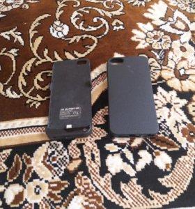 Чехол зарядка на iPhone