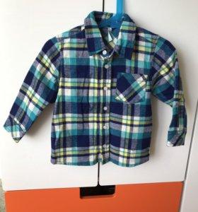 Рубашка Barkito новая 86 см