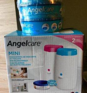 Новый накопитель подгузников Angelcare mini+3кассе