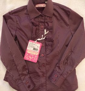 Блузка для школы р.128