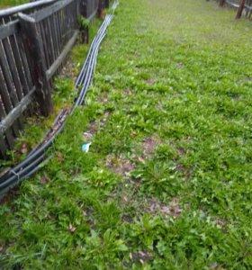 Труба для канализации, водопроводных шлангов,
