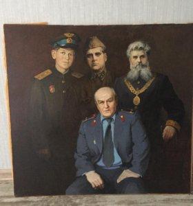 Картина Ежов В.И.,2004 год