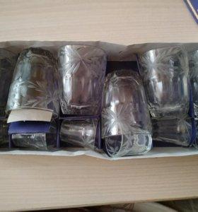 подарочный набор рюмок и стаканов