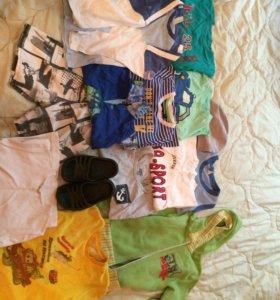 Вещи на мальчика пакетом 3-5 лет