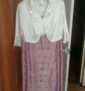 Платье с балеро, 56р-р