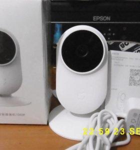 Новая, видео камера наблюдения Xiaomi комнатная