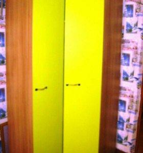 Угловой шкаф+пенал