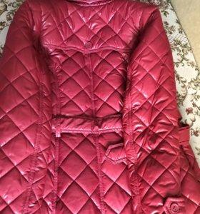 Пальто стёганное ф.Акула