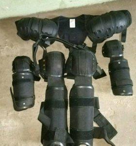 Комплект защиты рук, ног и плеч