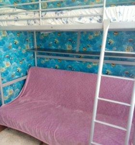 Диван бединге, кровать-чердак. IKEA