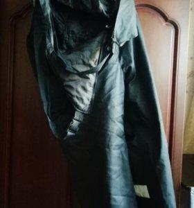 Зимние штаны с подкладом с лямками