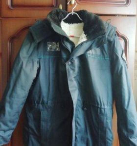 Куртка зимняя с мехом  ПС ФСБ