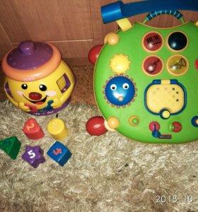 Игрушки Tiny Love , Fisher Prise, Chicco