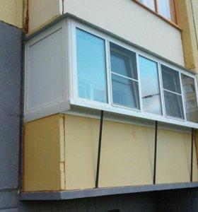 Окна. Остекление лоджий, балконов