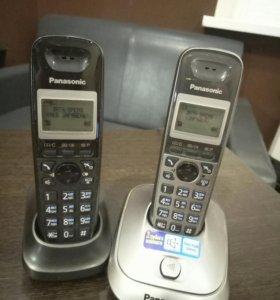 Телефон (комплект 2 трубки) Panasonic KX-TG2512RU