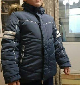Новая куртка зимняя для мальчика