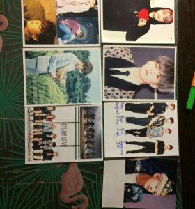 Полороидные фотографии BTS KPOP