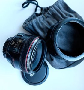 Продам объектив Canon 50mm f/1.2