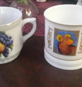 Кружки чайные кофейные