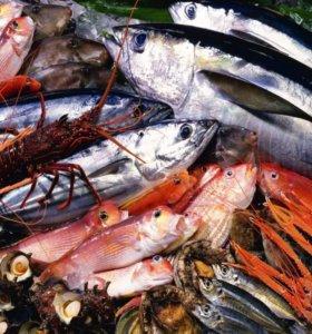 Обработчик рыбы и морепродуктов