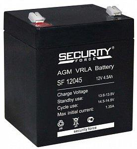 Аккумулятор Security SF 12045 12V4,5 Ah