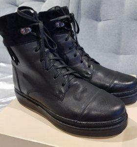 Женские зимние ботинки 38 размер