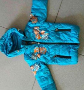 Курточка утепленная(новая )