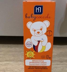 Солнцезащитный крем Babycoccole
