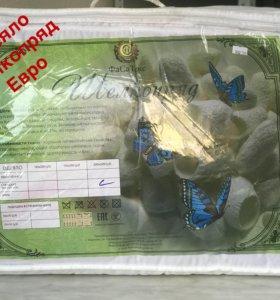 Одеяло шелкопряд всесезонное евро размер
