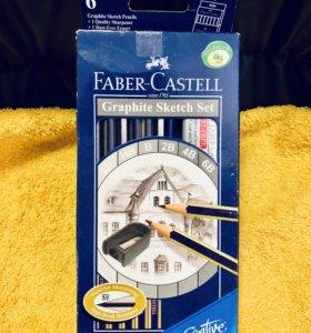 Карандаши чернографитовые Faber-Castell Новые