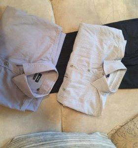 Рубашки (2шт) и брюки OSTIN