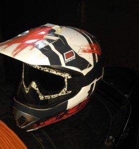 Шлем+очки