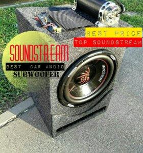 сабвуфер Soundstream Автомобильный