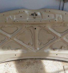 Капот, решетка радиатора тойота версо 2006