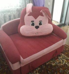 Кресло-кровать, 5000р.