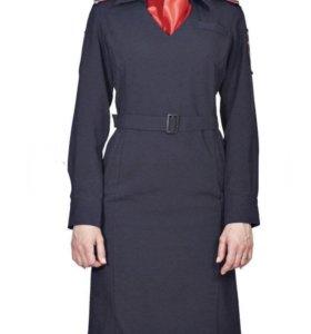 Платье Полиции длинный рукав продаю