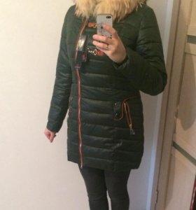 Новая зимняя куртка-пальто