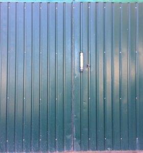 Створки ворот гаражные