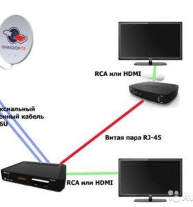 Комплект на 2 телевизора Триколор ТВ