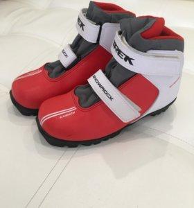 Лыжные ботинки детские 34р.