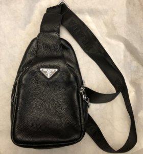 Рюкзак и сумка кожаные