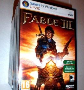 Fable 3 лицензия (новая) в упаковке для пк