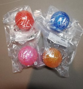 Брелки-мячики для художественной гимнастики