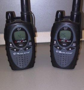 Радиостанции Mldland G7 (2 штуки)