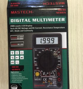 Цифровой мультиметр М-830