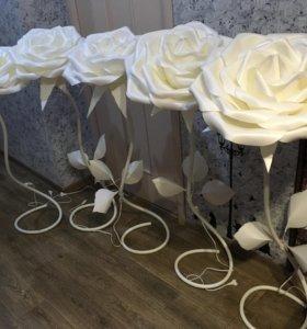 Ростовые цветы, цветы-торшеры