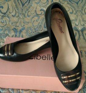 Туфли из натуральной кожи р.38