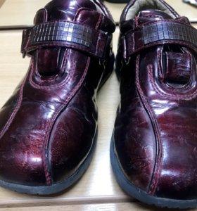 Туфли-полуботинки