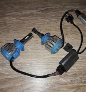 лампочки диодные h7